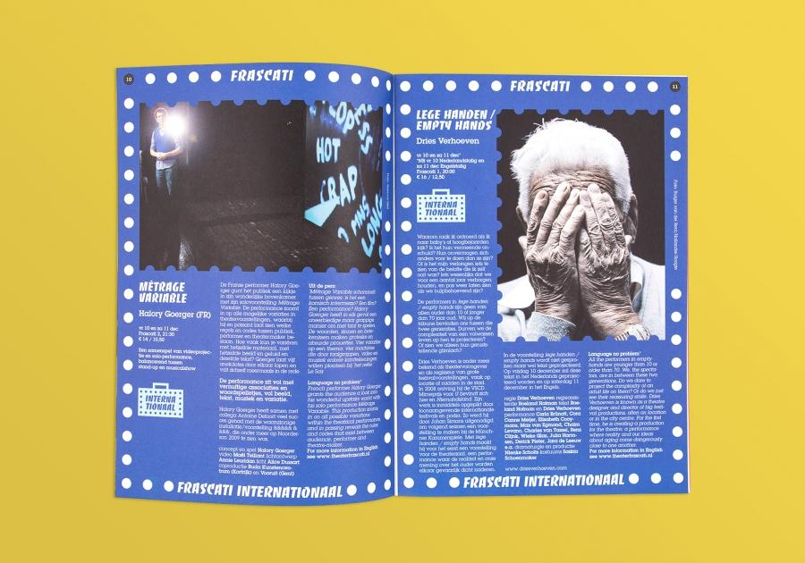 maandbrochure spread